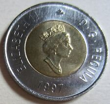1997 Canada Two Dollars Toonie Coin (Mint UNC.)