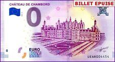 UE AR-3a / CHATEAU DE CHAMBORD / BILLET SOUVENIR 0 € / 0 EURO BANKNOTE 2018-3