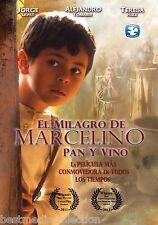 El Milagro De Marcelino Pan Y Vino DVD NEW Nueva Version Mark Hernandez SEALED