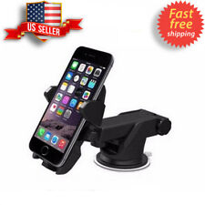 Black 360° Rotation Universal Car Windshield Dashboard Phone Holder Mount Stand