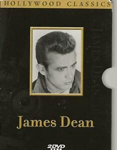 2 DVD / 4 MOVIE BOX JAMES DEAN HOLLYWOOD COLLECTION ENGLISH REGION 2 PAL