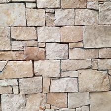 1 Musterstück Rocks Verblender Kalkstein Beige Naturstein Wandpaneele Riemchen