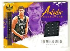 2017-18 Court Kings ARTISTIC ENDEAVORS RELIC BROOK LOPEZ #/299 QTY AVAILABLE