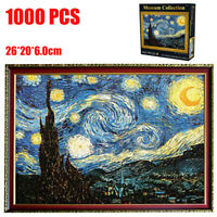 1000 Pieces Starry Night Jigsaw Puzzles Educational Toy Growups Puzzle Toy New