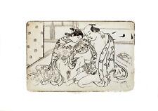 Nishikawa Sukenobu Erotic Di-Litho oil enhanced edit 2010 - non authorized copy