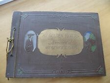 Album My Golden Hours a record of my school days 1924