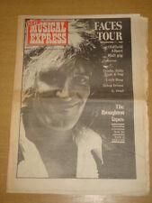 NME 1974 AUG 3 FACES GEORGE HARRISON URIAH HEEP CROSBY