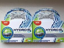 8 Wilkinson Sword Hydro 5 Sensitive Rasierklingen Neu / OVP