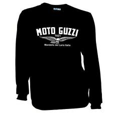 Vintage Moto Guzzi Motorcycle Wings Long Sleeve Biker T-Shirt Sizes S to 2XL