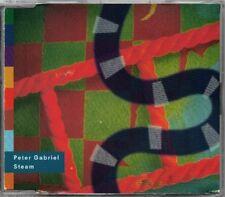 Peter Gabrel - Steam  RARE OOP ORIG 4-Track UK Pressing (Rare Versions & Cover)