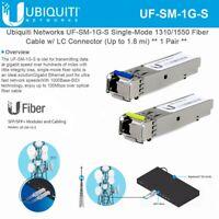 Ubiquiti UF-SM-1G-S - 1 Pair - single-mode Module.