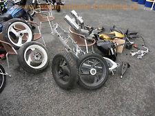 1x rear back wheel idéologique arrière roue arrière 17xmt4.00 r-78 yamaha tdm850 4tx 3vd