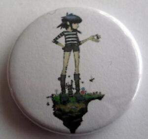 Gorillaz  NOODLE -  25mm Pin Badge ND6