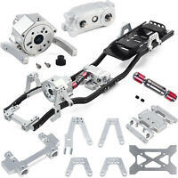 313mm Wheelbase Chassis Frame Prefixal Gearbox Set For 1/10 AXIAL SCX10 II 90046