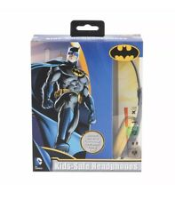 Batman Kids Safe Headphones Wired Adjustable Over Ear Speaker Teens Gaming Other
