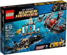 LEGO DC Super Heroes - 76027 BLACK Mantas ATTACCO IN MARE-NUOVO & OVP