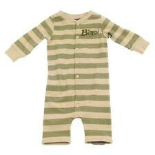 Size 3 Months - Baby Boys Bindi Wear Australia Zoo Khaki Green Romper