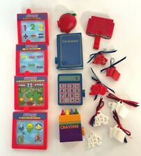 Vintage Amazing Ally Let's Play School Cartridges and Accessories 16 Pieces
