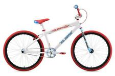 SE BIKES 2019 Mike Buff Big Ripper 26 in (environ 66.04 cm) BMX Cruiser Vélo Blanc/Rouge/Bleu