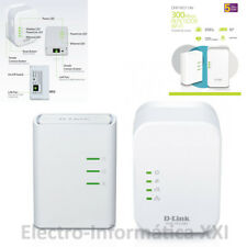 Extensor de red wifi por cable PLC powerline D-Link DHP-W311AV Kit Powerline AV