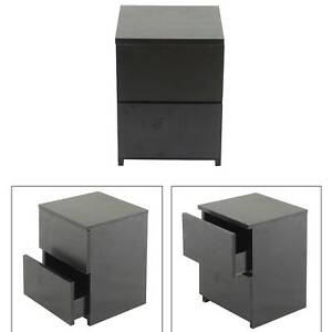 Wooden Bedside Table Cabinet Nightstand with Drawer Storage Bedroom Furniture