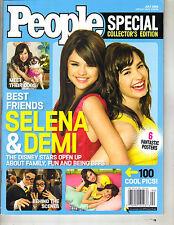 DEMI LOVATO SELENA GOMEZ People Magazine 7/09 SPECIAL