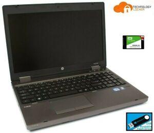 """HP ProBook 6560b 15.6"""" Intel i5-2540M @2.60GHz 4GB RAM 120GB SSD  Win 10 Laptop"""