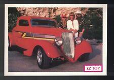 Zz Top Vintage 1984 Postcard; post card; rppc; Very Rare; Ex Cond