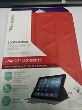 Targus 3D Protection iPad Case (Red) - THZ63503GL brand new