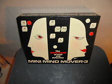 MINI MIND MOVER 3 THE WORD GAME - MASTER MIND WITH LETTERS WORDS - 1974 - VGC