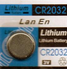 2 Piles boutons 3V lithium longue durée CR2032 neuve sous blister prix degressif