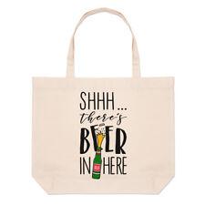 - Non giurare non c'è birra qui Grandi Da Spiaggia Tote Bag-Divertente Birra Ale A Tracolla