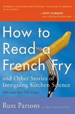 How to Read a French Fry by Parsons, Russ, Good Book