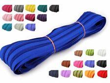 10x 1 m endlos Reißverschluss, Farbmix 5 mm Laufschiene inkl. 10 Zipper