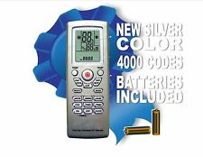 Universal A/C Remote Control With 4000 Brand Codes In Memory! New Silver Color!
