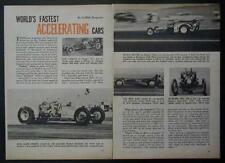 1959 Drag Racing Dragsters Slingshots Don Garlits