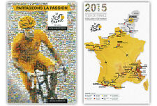 TOUR DE FRANCE 2015 SET OF 2 OFFICIAL POSTERS SAXO TINKOFF SKY UTRECHT DEPART
