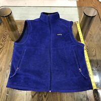 Patagonia Vintage Vest Made in USA Royal Blue Size L (Unisex)