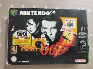 Nintendo 64 N64 GOLDENEYE 007 PAL  ITA Gig