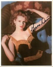 "Auth.Autograph ""Geena Davis"" Photo W/COA"