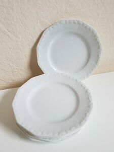 Rosenthal Maria Weiß 5x kleiner Teller Untertasse Porzellan Selb Bavaria