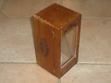 Ancienne boite de whisky JACK DANIEL'S vide / Empty WOODEN BOX from France dose
