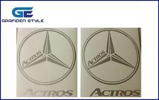 1 Paar - ACTROS - Aufkleber - Sticker - Decal !!
