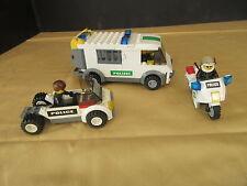 LEGO® LEGO Konvolut POLIZEI Lkw Motorrad Pkw Gefängniswagen Figuren