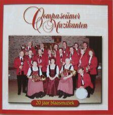 COMPASCUMER MUZIKANTEN - 20 JAAR BLAASMUZIEK -  CD