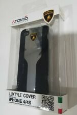 Black and silver Atomic licensed  Lamborghini iPhone 4/4s case. Luxtyle status