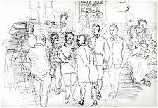 Raoul DUFY - CONCOURS HIPPIQUE FALAISE 1953 - Orig.Lithographie ILLUMINATIONS