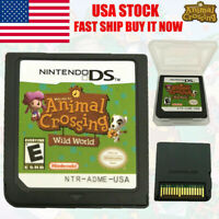 Animal Crossing: Wild World (Nintendo DS,2005) Game Card For 3DS Christmas Hot