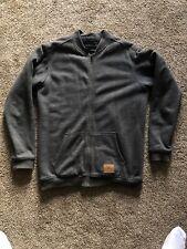 O'neill MENS GRAY fleece bomber jacket men's M