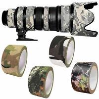 10m Tarnband Klebeband Gewebeband Camo Camouflage Army Tape IsolierbandDuct W0U1